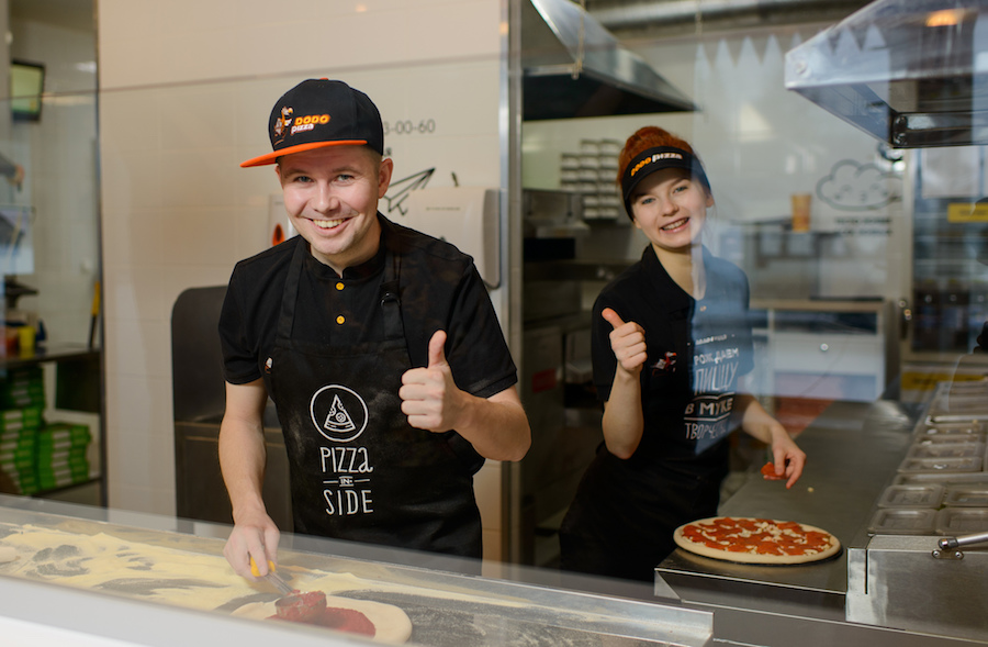 Fyodor Ovchinnikov, Dodo Pizza founder, in gemba