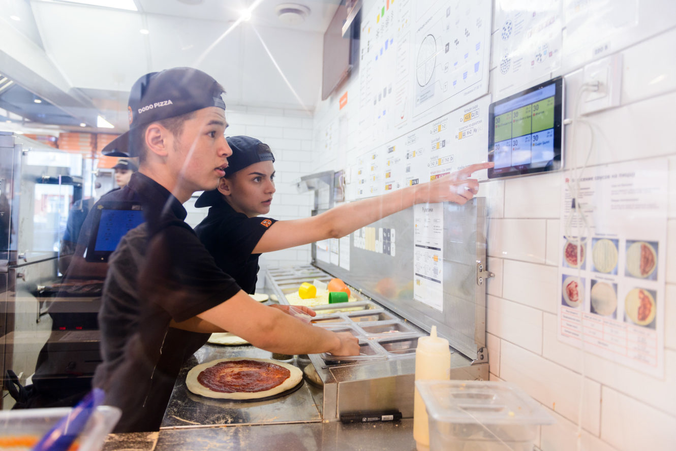 How technology is changing the fast food industry